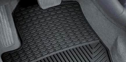 Las alfombras de goma para el coche