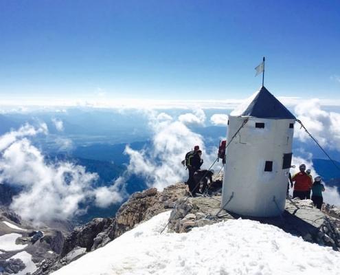 La montaña Triglav, Eslovenia